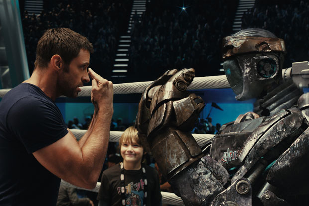 Robots fighting in the Real Steel