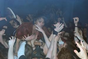 Crowd Surfing - Crossfaith @ Camden Underworld
