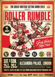 TGBTS Roller Rumble Poster