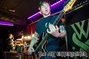 While She Sleeps - content guitarist
