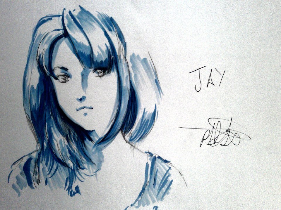 Jay animed up