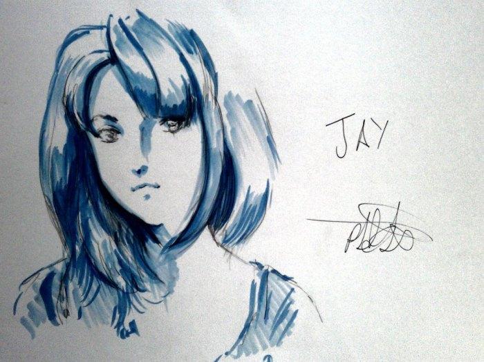 Jay animed up