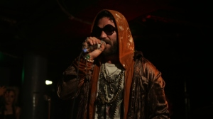 Bam Margera on stage
