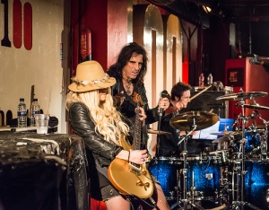 Rock legend Alice Cooper joins Orianthi as her special guest