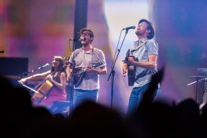 The Lumineers take centre stage