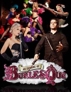 An Evening of Burlesque poster - Image courtesy of the BIC website