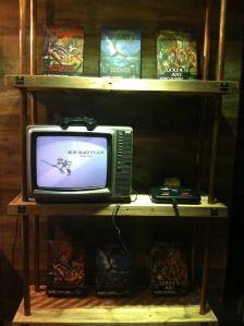 Retro gaming corner