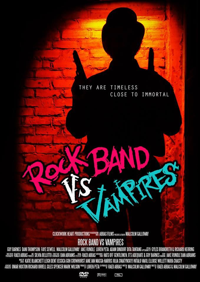 rock band vs vampires film poster