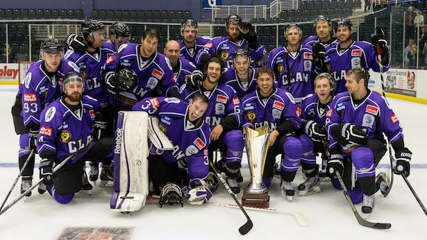 Braehead Clan Ice Hockey Club group shot