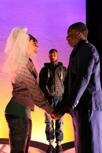 The star crossed lovers get married
