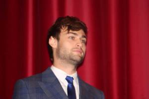 Douglas Booth who plays Shem in Noah