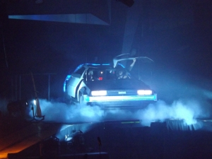 The McBusted DeLorean time machine