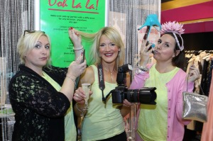 The Ooh La La ladies strike a pose