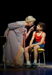 Elliott Hanna (Billy Elliot) and Ann Emery (Grandma) photo by Alastair Muir
