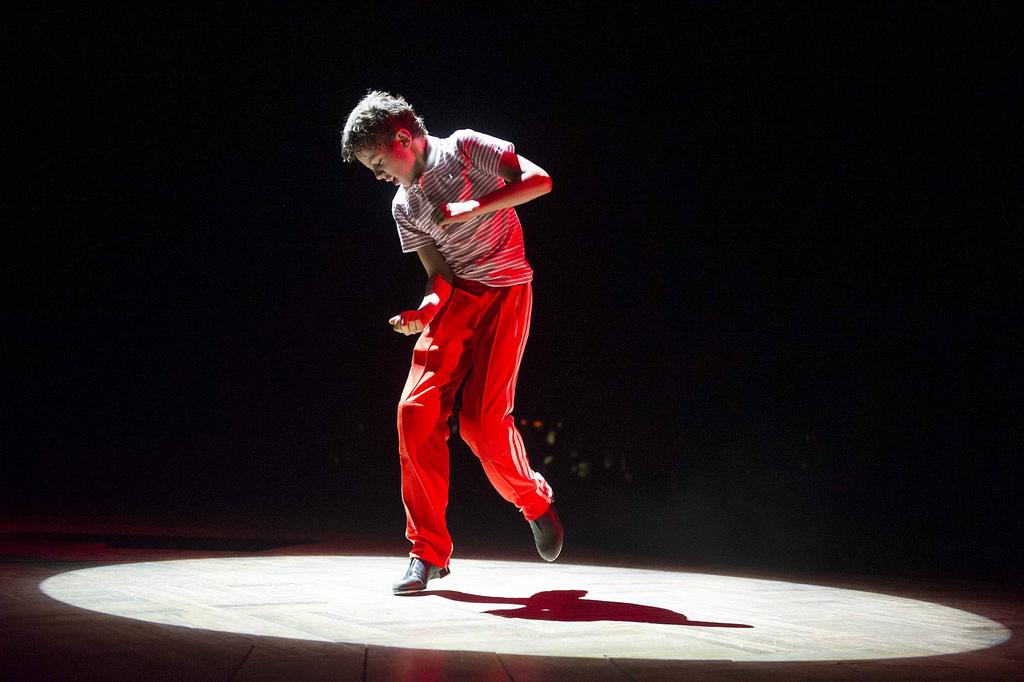 Elliott Hanna (Billy Elliot) photo by Alastair Muir