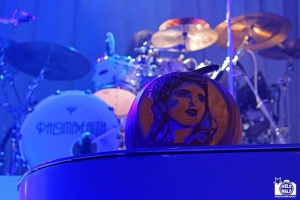 Paloma Faith carved pumpkin