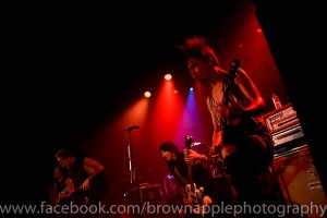 Coldrain. Photography by Gary Brown.
