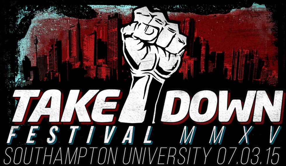 Takedown Festival 2015 poster
