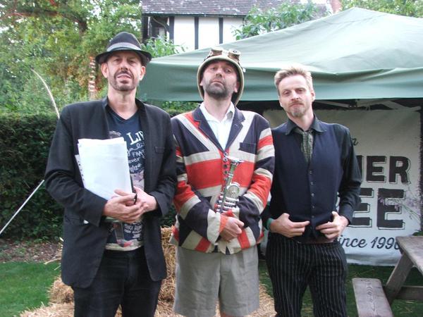 The Gaslight Troubadors and Professor Elemental