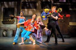 Some of the crew - photo courtesy of the Avenue Q Facebook
